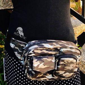 Multi-Pocket Army Camo Fanny Pack Bag